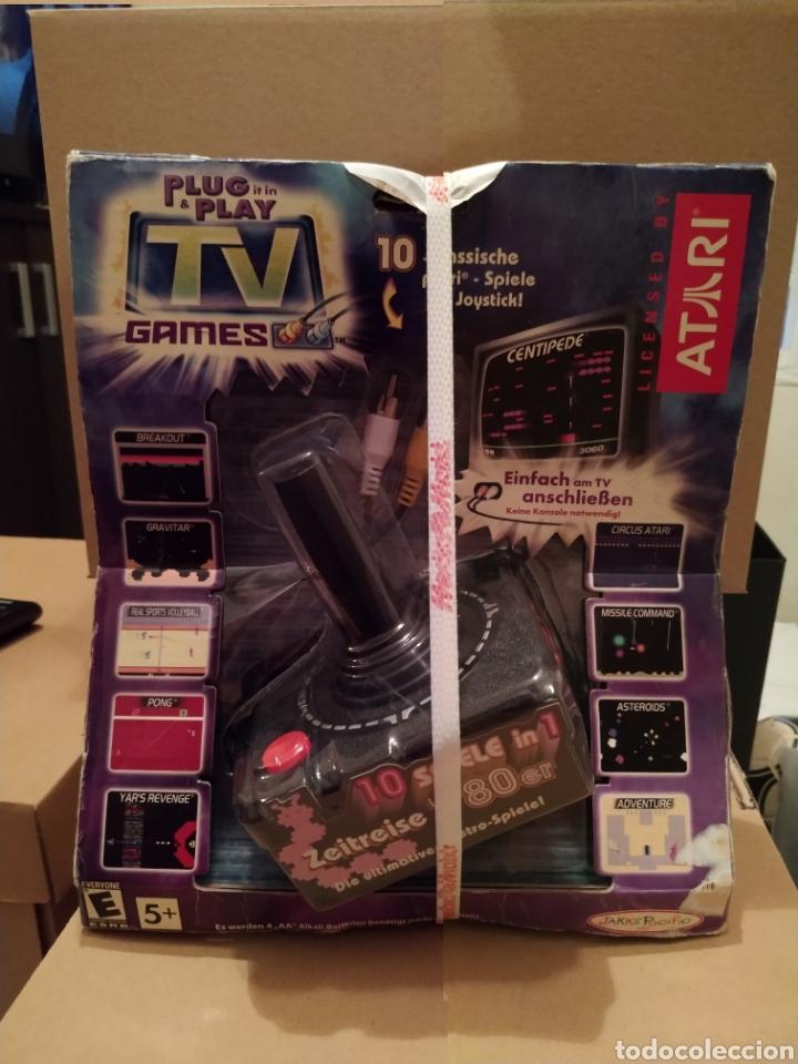 Videojuegos y Consolas: ATARI plug & play TV ganes 10 juegos en 1 NUEVO en su blister original - Foto 2 - 208423442