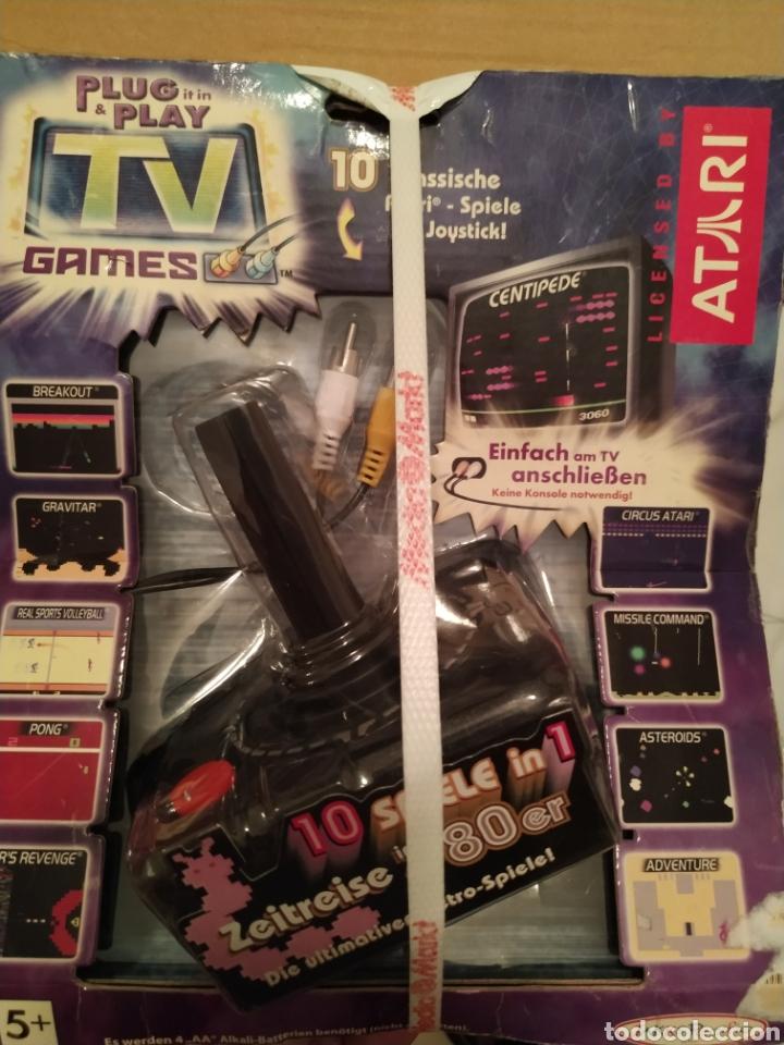 ATARI PLUG & PLAY TV GANES 10 JUEGOS EN 1 NUEVO EN SU BLISTER ORIGINAL (Juguetes - Videojuegos y Consolas - Atari)
