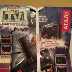 Videojuegos y Consolas: ATARI PLUG & PLAY TV GANES 10 JUEGOS EN 1 NUEVO EN SU BLISTER ORIGINAL. Lote 208423442