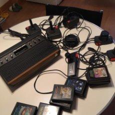 Videojuegos y Consolas: ANTIGUA CONSOLA ATARI VÍDEO COMPUTER SYSTEM. Lote 208783680