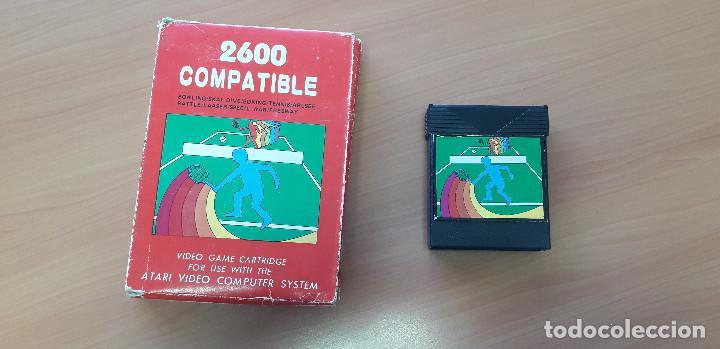 08-00356 -CARTUCHO JUEGOS DEPORTES ATARI 2600 (Juguetes - Videojuegos y Consolas - Atari)