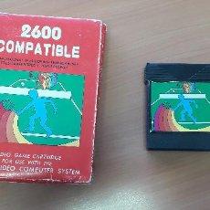 Videojuegos y Consolas: 08-00356 -CARTUCHO JUEGOS DEPORTES ATARI 2600. Lote 210012582
