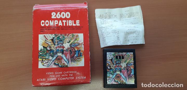 08-00357 -CARTUCHO JUEGOS ESPACIO ATARI 2600 (Juguetes - Videojuegos y Consolas - Atari)