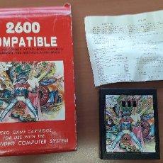 Videojuegos y Consolas: 08-00357 -CARTUCHO JUEGOS ESPACIO ATARI 2600. Lote 210012623