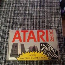Videojuegos y Consolas: ATAR 2600 1 JUEGO CON 32 Y 2 MANDOS. Lote 210601913