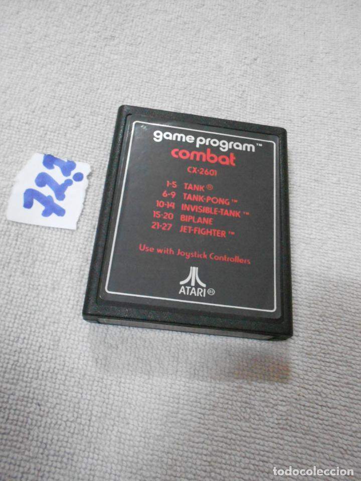 Videojuegos y Consolas: ANTIGUO CARTUCHO JUEGO ORIGINAL ATARI GAME PROGRAM COMBAT (VARIOS JUEGOS) - Foto 2 - 210677190
