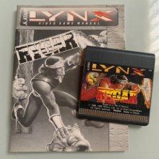 Videojuegos y Consolas: JUEGO Y MANUAL DE INSTRUCCIONES PARA LA CONSOLA ATARI LYNX RYGAR. Lote 213716065