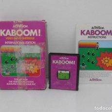 Videojuegos y Consolas: JUEGO ATARI KABOOM, COMPLETO, CAJA E INSTRUCIONES, ACTIVISION. Lote 213815903