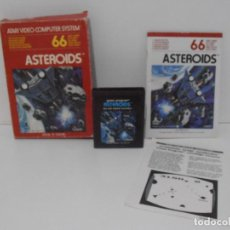 Videojuegos y Consolas: JUEGO ATARI ASTERIODS, COMPLETO, CAJA E INSTRUCIONES,. Lote 213816051