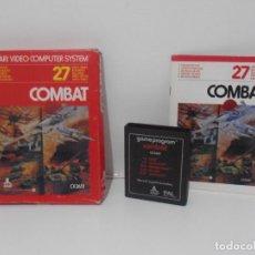 Videojuegos y Consolas: JUEGO ATARI COMBAT, COMPLETO, CAJA E INSTRUCIONES,. Lote 213816183