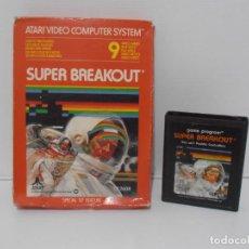 Videojuegos y Consolas: JUEGO ATARI SUPER BREAK OUT, CAJA ORIGINAL. Lote 213816363
