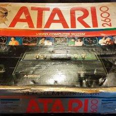 Videojuegos y Consolas: CONSOLA ATARI PARA PIEZAS+INSTRUCCIONES + CAJA.. Lote 214476845