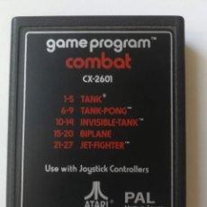 Videojuegos y Consolas: ANTIGUO CARTUCHO JUEGO PARA VIDEO CONSOLA ATARI 2600 - COMBAT CX-2601 - TANK TANK-PONG, INVISIBLE-TA. Lote 214674381