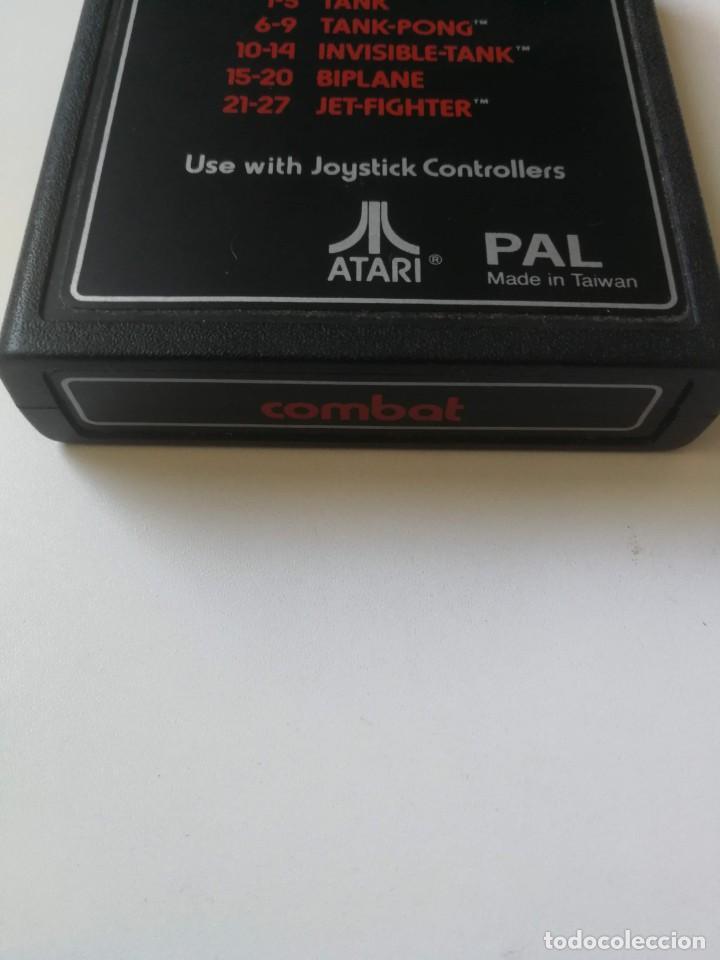 Videojuegos y Consolas: ANTIGUO CARTUCHO JUEGO PARA VIDEO CONSOLA ATARI 2600 - COMBAT CX-2601 - TANK TANK-PONG, INVISIBLE-TA - Foto 2 - 214674381