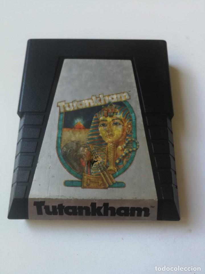 ANTIGUO JUEGO PARA VIDEO CONSOLA ATARI 2600 - TUTANKHAM - 1983 - KONAMI - PARKER BROTHERS - (Juguetes - Videojuegos y Consolas - Atari)