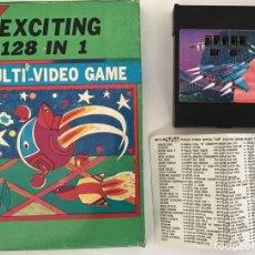 Videojuegos y Consolas: 128 IN 1 EXCITING MULTI VIDEO GAME (RECOPILATORIO) PARA ATARI. Lote 241655470