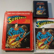 Jeux Vidéo et Consoles: 0920- ATARI VIDEO COMPUTER SYSTEM SUPERMAN CX 2631 1979. Lote 218019772