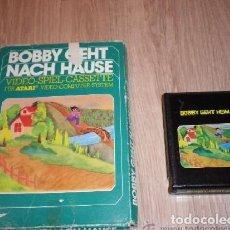 Videojuegos y Consolas: ATARI 2600 JUEGO BOBBY GEHT NACH HAUSE EN CAJA. Lote 218244883