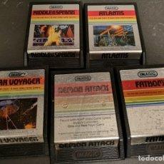 Videojuegos y Consolas: LOTE 5 JUEGOS ATARI IMAGIC SILVER. Lote 218484391