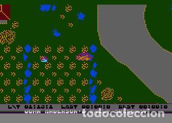 Videojuegos y Consolas: John Anderson´s Rally Speedway [Adventure International] [1983] ATARI 400 800 XE XL 8bits Cartridge - Foto 11 - 28389408