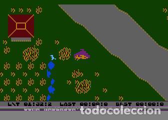 Videojuegos y Consolas: John Anderson´s Rally Speedway [Adventure International] [1983] ATARI 400 800 XE XL 8bits Cartridge - Foto 13 - 28389408