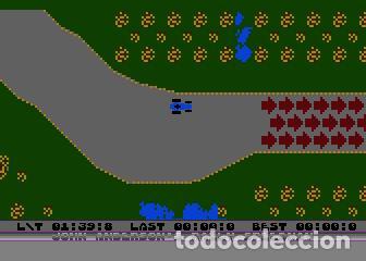 Videojuegos y Consolas: John Anderson´s Rally Speedway [Adventure International] [1983] ATARI 400 800 XE XL 8bits Cartridge - Foto 14 - 28389408
