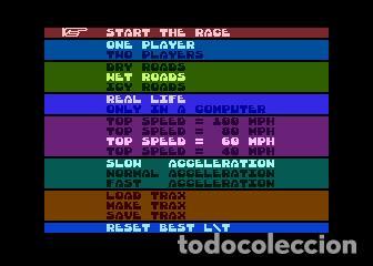 Videojuegos y Consolas: John Anderson´s Rally Speedway [Adventure International] [1983] ATARI 400 800 XE XL 8bits Cartridge - Foto 6 - 28389408