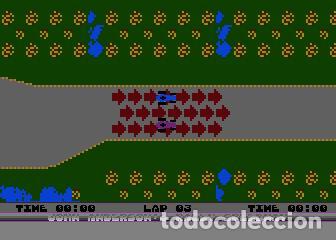 Videojuegos y Consolas: John Anderson´s Rally Speedway [Adventure International] [1983] ATARI 400 800 XE XL 8bits Cartridge - Foto 8 - 28389408