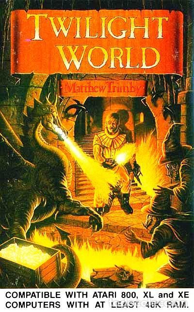 Videojuegos y Consolas: Twilight World [Matthew Trimby] 1986 ATARI U.K. [ATARI 600 / 800 / XL / XE] - Foto 4 - 48305885