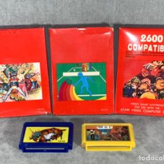 Videojuegos y Consolas: LOTE X 5 VIDEO JUEGOS - ATARI 2600 Y FAMICOM COMPATIBLES - SIN USAR. Lote 219235450