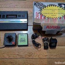Videojuegos y Consolas: CONSOLA ATARI 2600 CON CAJA 1 MANDO. Lote 219288172
