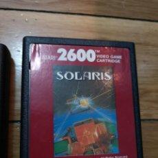 Videojuegos y Consolas: JUEGO ATARI 2600 SOLARIS. Lote 219293452