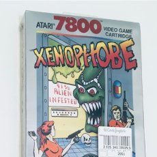 Videojuegos y Consolas: XENOPHOBE [ATARI CORP / BALLY MIDWAY] 1989 [PAL] [ATARI 7800] EL CORTE INGLÉS [PRECINTADO] CX7858. Lote 219499661