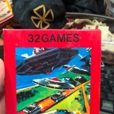 Videojuegos y Consolas: VIDEOJUEGO ATARI 32 GAMES VIDEO GAME CARTRIDGE 2600 COMPATIBLE - MATERIAL DE ANTIGUA TIENDA. Lote 220540082
