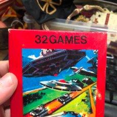 Videojuegos y Consolas: VIDEOJUEGO ATARI 32 GAMES VIDEO GAME CARTRIDGE 2600 COMPATIBLE - MATERIAL DE ANTIGUA TIENDA. Lote 220540113