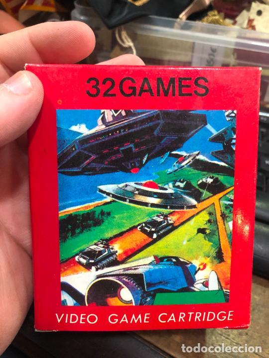 VIDEOJUEGO ATARI 32 GAMES VIDEO GAME CARTRIDGE 2600 COMPATIBLE - MATERIAL DE ANTIGUA TIENDA (Juguetes - Videojuegos y Consolas - Atari)