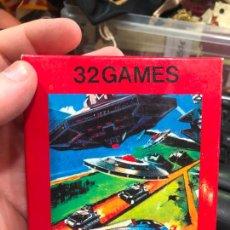 Videojuegos y Consolas: VIDEOJUEGO ATARI 32 GAMES VIDEO GAME CARTRIDGE 2600 COMPATIBLE - MATERIAL DE ANTIGUA TIENDA. Lote 220540135