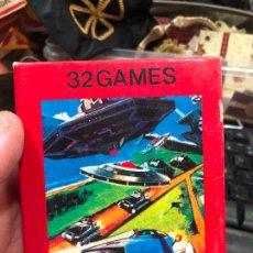 Videojuegos y Consolas: VIDEOJUEGO ATARI 32 GAMES VIDEO GAME CARTRIDGE 2600 COMPATIBLE - MATERIAL DE ANTIGUA TIENDA. Lote 220540295