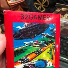 Videojuegos y Consolas: VIDEOJUEGO ATARI 32 GAMES VIDEO GAME CARTRIDGE 2600 COMPATIBLE - MATERIAL DE ANTIGUA TIENDA. Lote 220540502