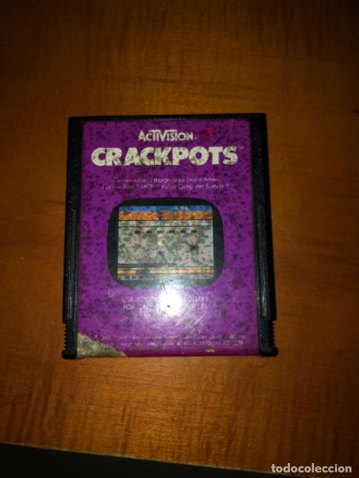 VIDEOJUEGOS CRACKPOTS DE ATARI (Juguetes - Videojuegos y Consolas - Atari)