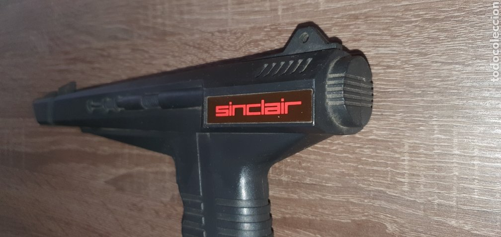 Videojuegos y Consolas: Antigua pistola Sinclair Atari en muy buen estado - Foto 5 - 221771337
