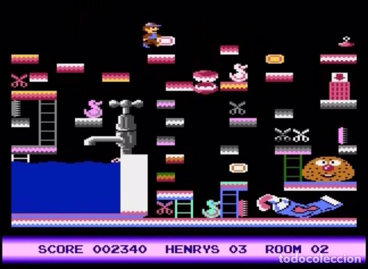 Videojuegos y Consolas: Henry´s House [Mastertronic] 1987 [ATARI 600 / 800 / XL / XE] Chris Murray - Foto 7 - 48306159