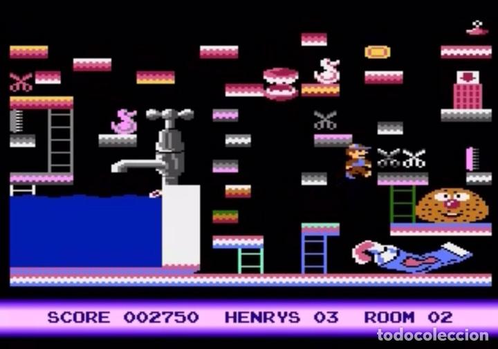 Videojuegos y Consolas: Henry´s House [Mastertronic] 1987 [ATARI 600 / 800 / XL / XE] Chris Murray - Foto 8 - 48306159
