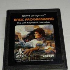 Videojuegos y Consolas: CARTUCHO ORIGINAL ATARI - BASIC PROGRAMMING - CON LIBRILLO MANUAL. Lote 223849470