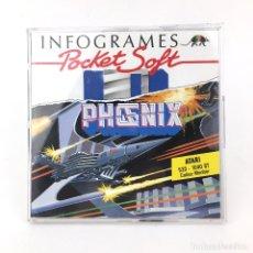 Videojuegos y Consolas: PHOENIX AY 21 SPACE INFOGRAMES POCKET SOFT 1989 RETRO MARCIANITOS 520 1040 DISKETTE 3½ DISK ATARI ST. Lote 228682805