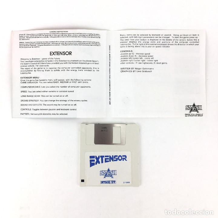 Videojuegos y Consolas: EXTENSOR / INTERCEPTOR GOLDEN GAMES SMASH 16 1989 JUEGO RETRO ZARTH ARENA DISKETTE 3½ DISK ATARI ST - Foto 2 - 228682870