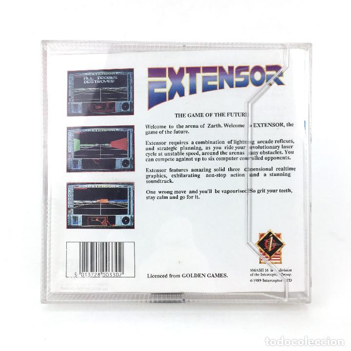 Videojuegos y Consolas: EXTENSOR / INTERCEPTOR GOLDEN GAMES SMASH 16 1989 JUEGO RETRO ZARTH ARENA DISKETTE 3½ DISK ATARI ST - Foto 3 - 228682870