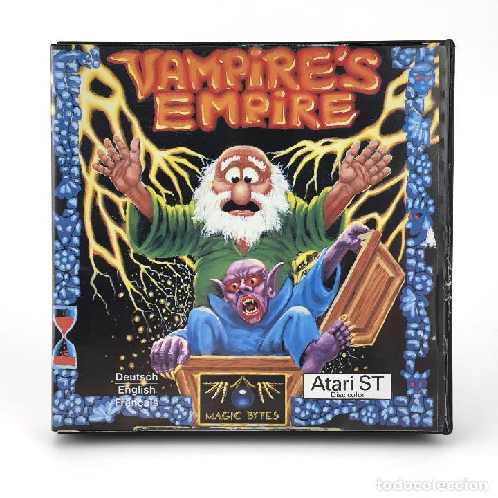 VAMPIRE´S EMPIRE DRO SOFT ESPAÑA MAGIC BYTES 1988 JUEGO RETRO DE MAGIA HECHIZO DISKETTE ATARI ST MBE (Juguetes - Videojuegos y Consolas - Atari)