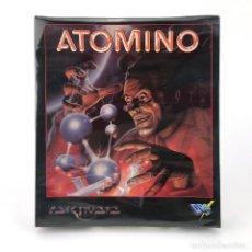 Videojuegos y Consolas: ATOMINO PRECINTADO * EDICION ESPAÑOLA DRO SOFT PSYGNOSIS 1991 JUEGO CAJA GRANDE DISKETTE 3½ ATARI ST. Lote 229779350