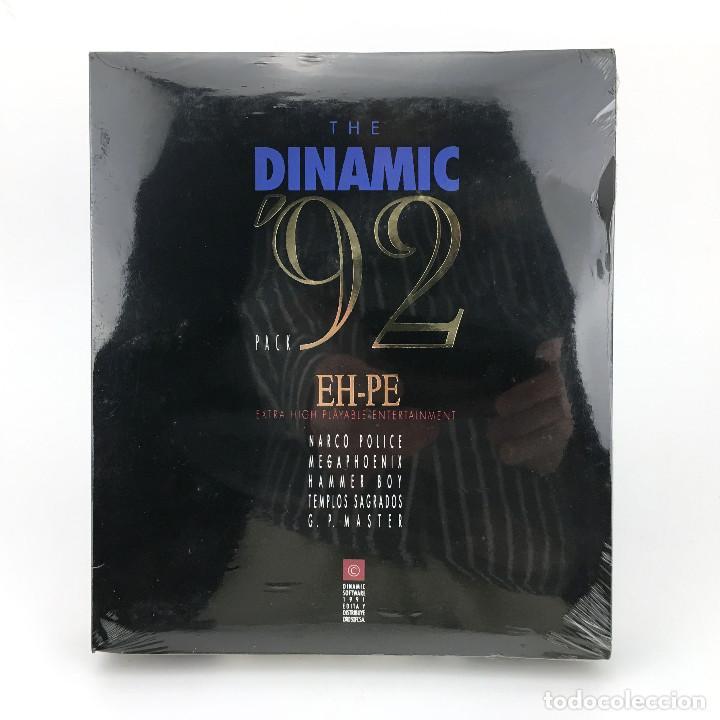 THE DINAMIC 92 PRECINTADO LOS TEMPLOS SAGRADOS AD MEGAPHOENIX ASPAR NARCO POLICE HAMMER BOY ATARI ST (Juguetes - Videojuegos y Consolas - Atari)